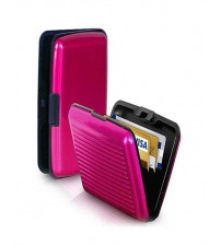Aluma Wallet For Men and Women - Pink