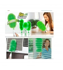 Electric Go Duster Rotating Cleaner Dusting Brush - Green