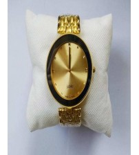 Black and Golden Stylish Watch Just For Men