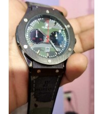 Army Style, Leather Strap Watch