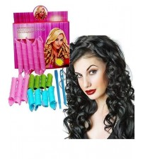 Pack Of 18 - Magic Leverage Hair Curlers High Speed Changing Magic Roller Hair Curler Pack