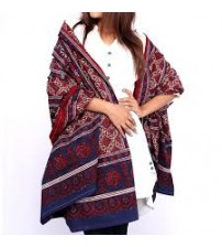 Buy Multicolor Sindhi Ajrak For Women Online in Pakistan at