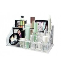 Acrylic Cosmetic Organizer & Makeup Display Stand