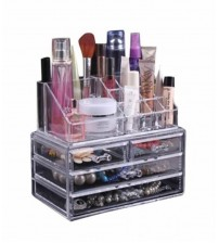 Four Drawer With Cosmetic Box Acrylic Jewellery Organizer