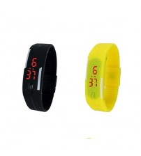 Pack of 2 LED Bands - Black and Yellow