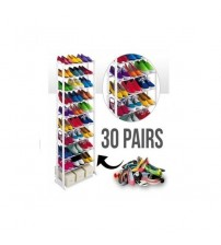 Competitive Shoe Rack For 30 Pair