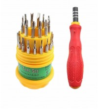 Jackly 31 In 1 - Screw Driver Set - Multicolor