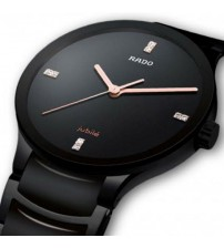 Elegant Full Black Watch for Men - R