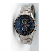 Stainless Steel Watch with AUTO Day and Date - T16