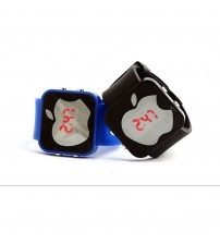 Pack of 2 Apple Shape Digital Watch