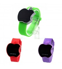 Pack of 3 Apple Shape Digital Watch