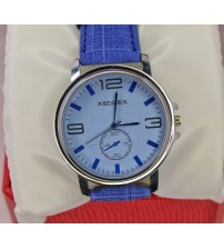 Xenlex Watch for Men Blue Denim Style