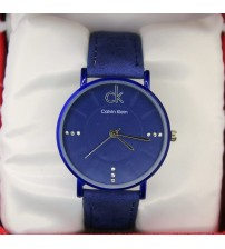 CK Blue Watch for Men Casual Watches Simple Quartz Wristwatch Fashion