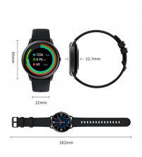 KW66 Smart Watch Multi-functional Watch Waterproof Sport Watch Fashion Round Dial Watch Heart Rate Monitoring