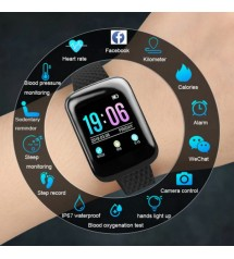 New Fitness D13 Smart Watch, Heart Rate Monitor Watch, Smart Fitness Watch