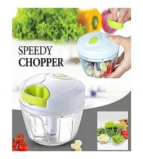 Pull-Cord Speedy Food Chopper Fruit Vegetable Nicer Dicer Garlic Ginger Cutter Kitchen Gadgets Cooking Tools