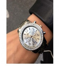 Silver Color Analogue Watch for Men/Women