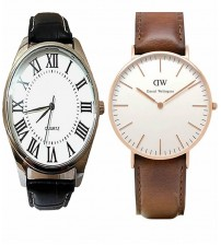 Deal of 2 Analogue Watches for Men/Women